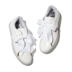 Basket Heart Patent Sneakers