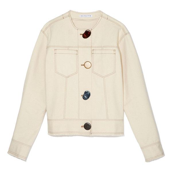 Rejina Pyo Erin Button-Detail Denim Jacket