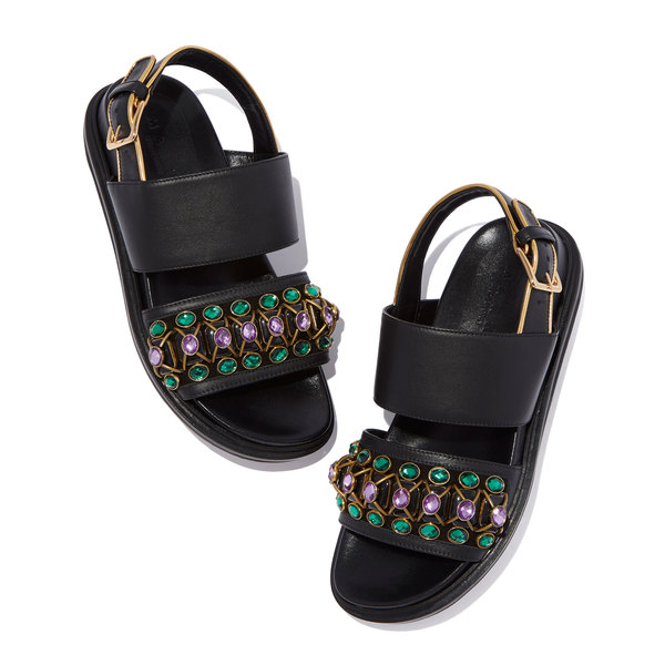 Marni Jeweled Fussbett Sandals