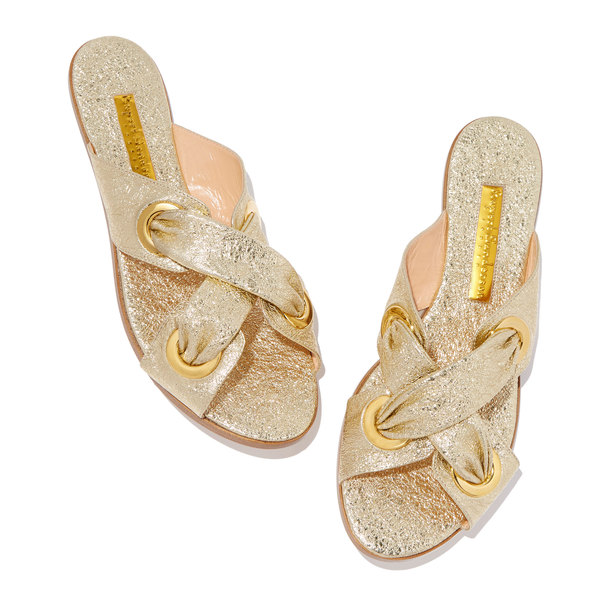 Rupert Sanderson Symmetry Laminate Sandals