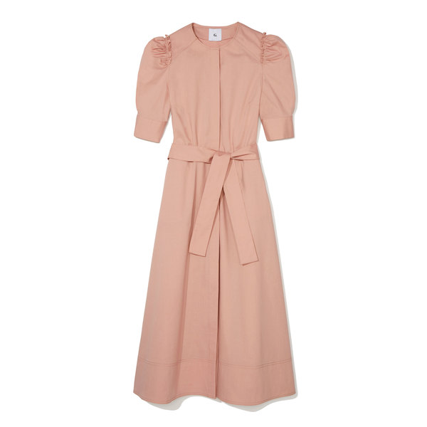G. Label Elisabeth Belted Shirtdress