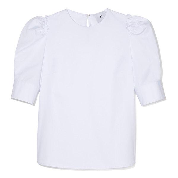 G. Label Stephanie Puff-Sleeve Blouse