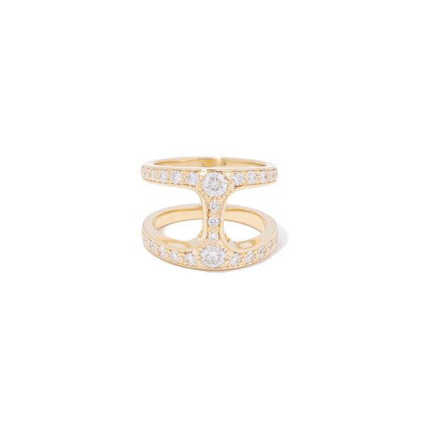 HOORSENBUHS Brute Phantom Ring With Diamonds