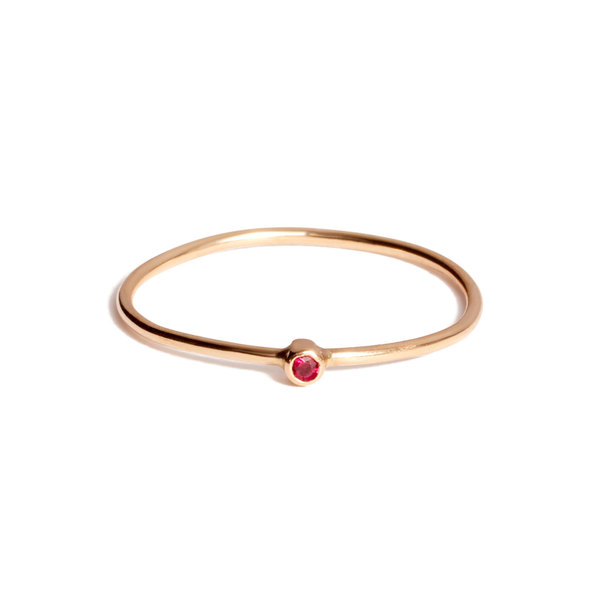 Jennifer Meyer Ruby Thin Ring