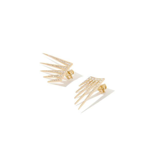 AZLEE Ear Wire Full Diamond Earrings