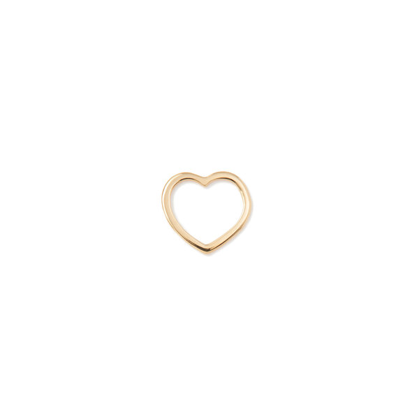 Loquet 18K Gold Heart Charm