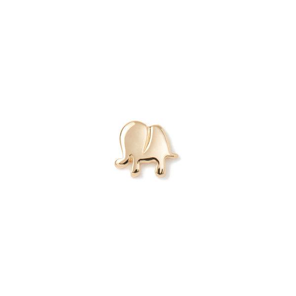 Loquet 18K Gold Elephant Charm