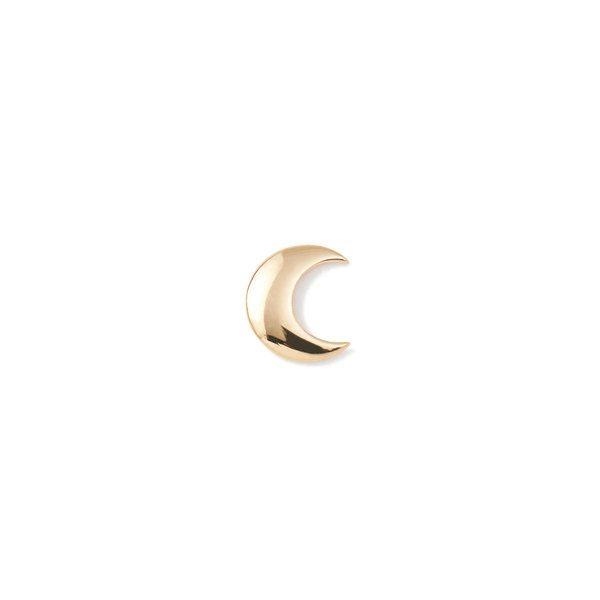 Loquet 18K Gold Moon Charm