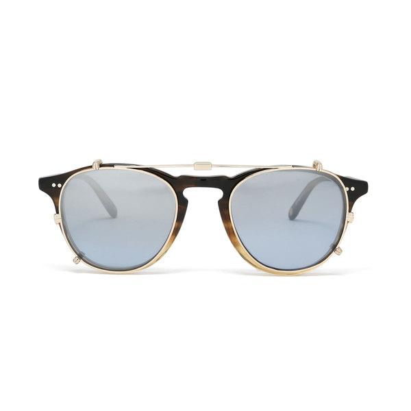 Garrett Leight  Hampton 46 Clip-On Sunglasses