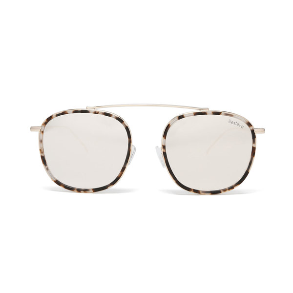 Illesteva Mykonos Ace Tortoise Sunglasses