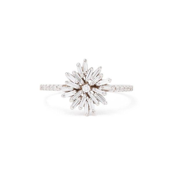Suzanne Kalan Small Diamond Firework Ring