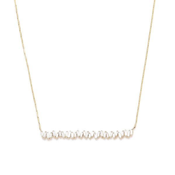 Suzanne Kalan Firework Diamond Necklace