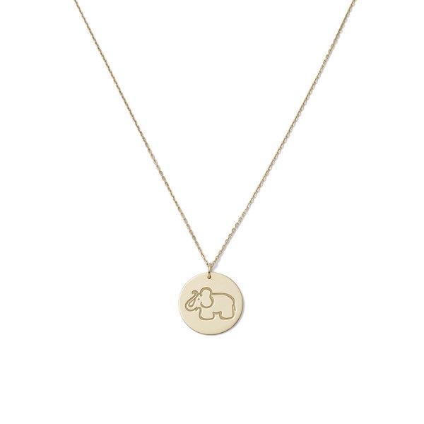 Aurelie Bidermann Medals Yellow-Gold Pendant With 50cm Chain