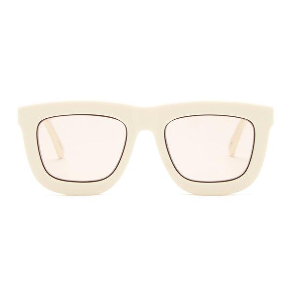 Karen Walker Deep Worship White Sunglasses