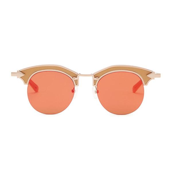 Karen Walker Buccaneer Amber Sunglasses
