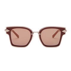 Rebellion Burgundy Sunglasses