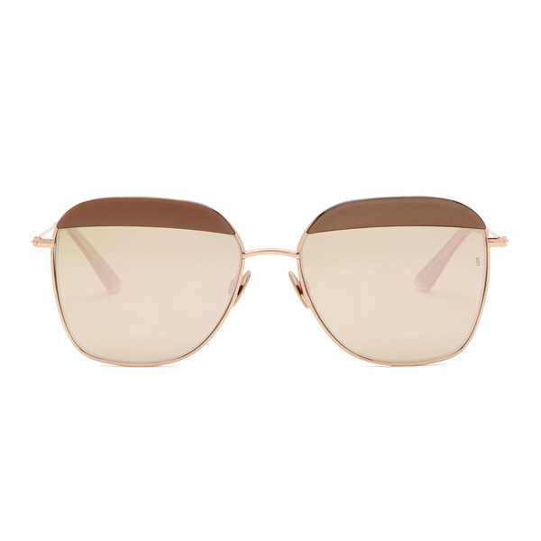 Sunday Somewhere Vito Metallic Sunglasses