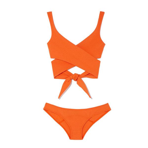 Lisa Marie Fernandez Marie-Louise Wrap-Around Bikini