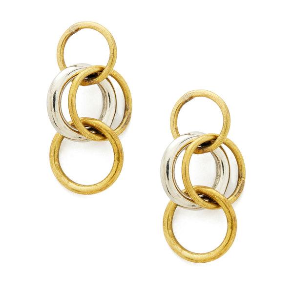 Soko Jewelry Fania Triple Hoop Earrings