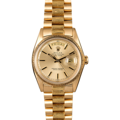 Yellow-Gold Rolex Day Date 1807