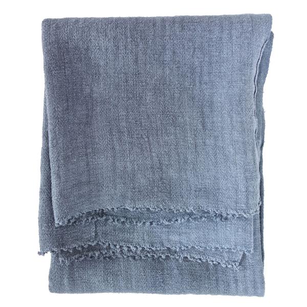 espanyolet goop Hand-Painted Hemp Blanket