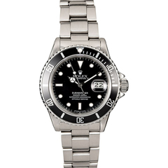 Stainless Steel Rolex Submariner 16610