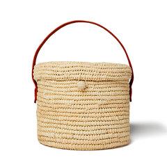 Mini Round Canasta Handbag
