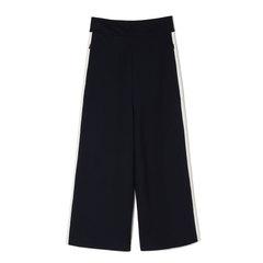 High-Waisted Striped Nerd Pants