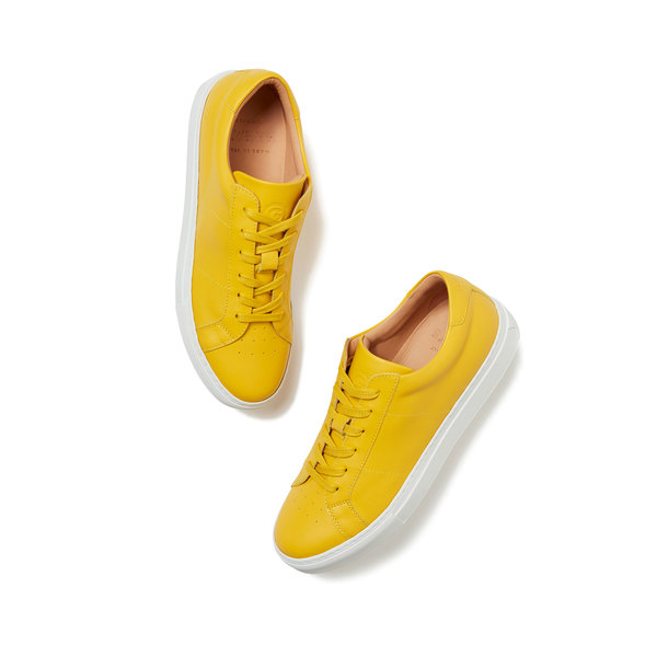 Greats Canary Yellow Royale Sneaker