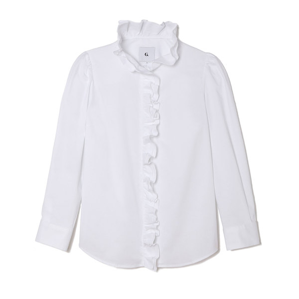 G. Label Abby Ruffle Button Down