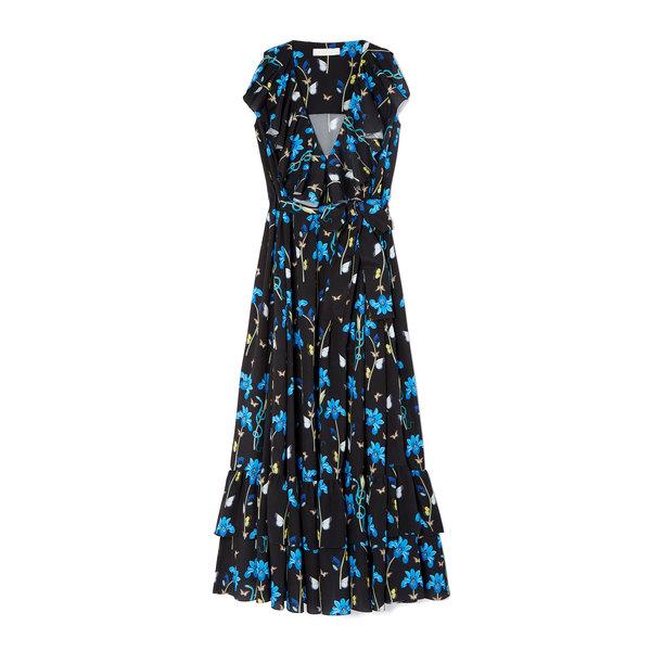 Borgo De Nor Carlotta Ruffle Maxi Dress