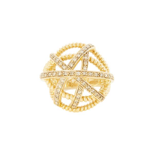 Nancy Newberg Diamond Ball Ring