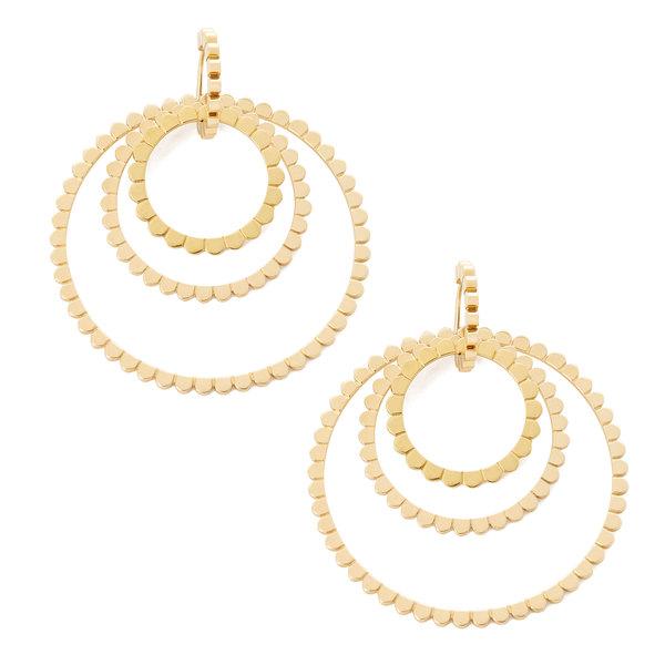 Nancy Newberg Daisy Triple Hoop Earrings
