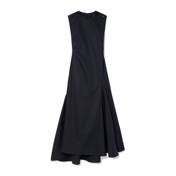 Ellery Lyco Godet Midi Dress