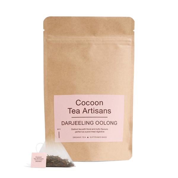Cocoon Tea Artisans  100%-Organic Darjeeling Oolong Tea Refill Bag