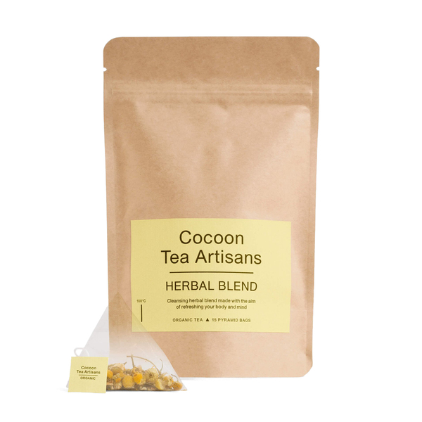 COCOON TEA ARTISANS  100% Organic Herbal Tea Refill Bag