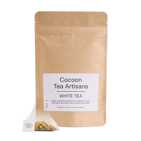 Cocoon Tea Artisans  100% Organic White Tea Refill Bag