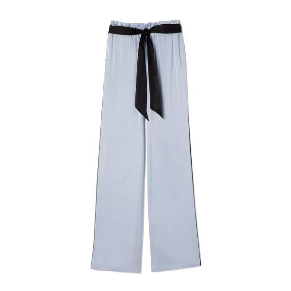 Asceno Silk-Satin Wide-Leg Trousers