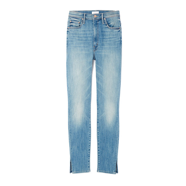 MOTHER The Swooner Ankle Slice Jeans