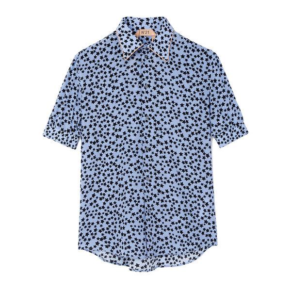 No. 21 Star Silk Shirt