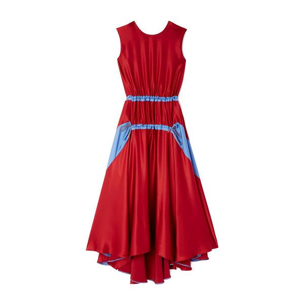 Roksanda Tasha Color-Blocked Dress
