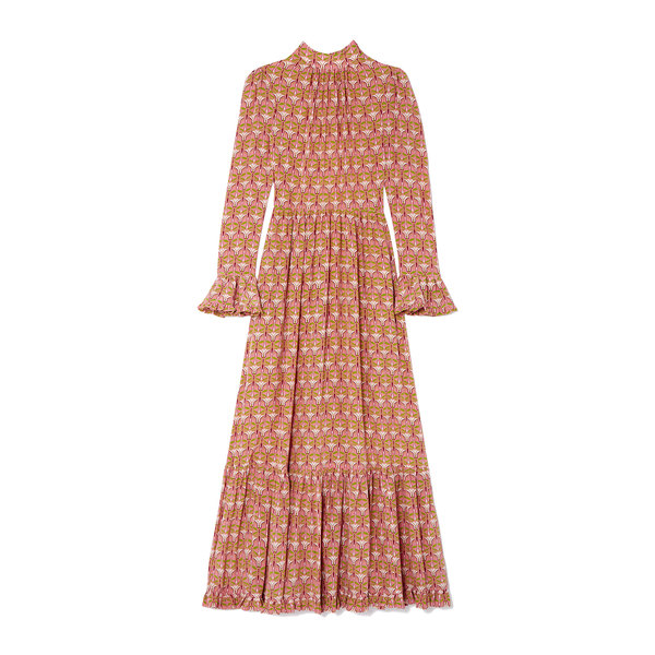 La DoubleJ Visconti Printed Silk Dress