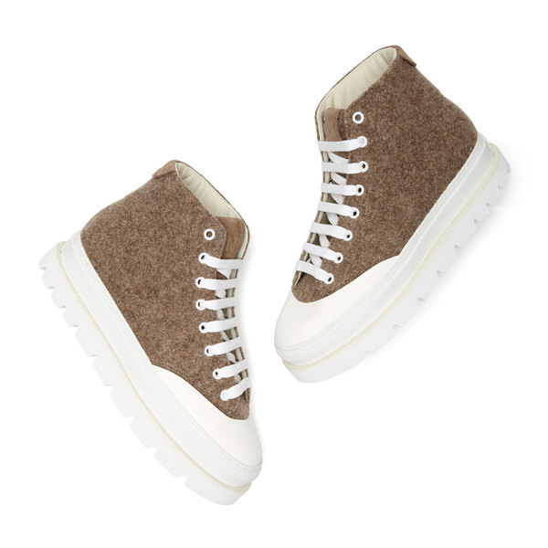 MM6 High-Top Sneakers