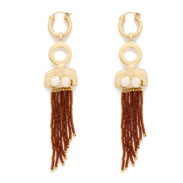 Ellery Large Female Torso Earrings