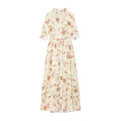 Disco Button-Up Short-Sleeve Dress
