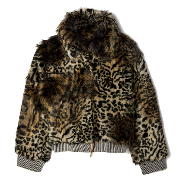 Stella McCartney Laurel Faux Fur Jacket