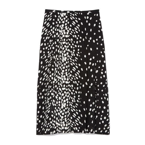 Rixo London Georgia Pleated Mini Skirt