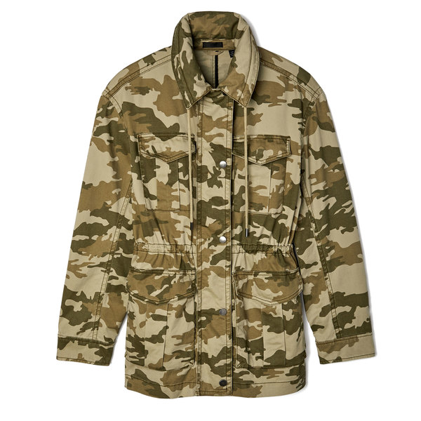 ATM Anthony Thomas Melillo Stretch-Cotton Camo Field Jacket