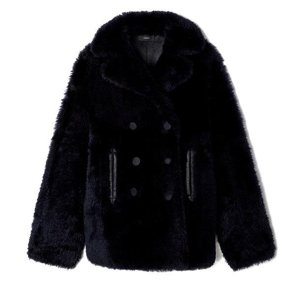 Joseph Hecktor Teddy Sheepskin Coat