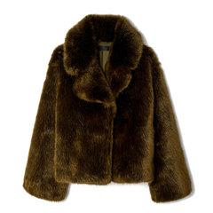 Sedella Plush Oversized Coat